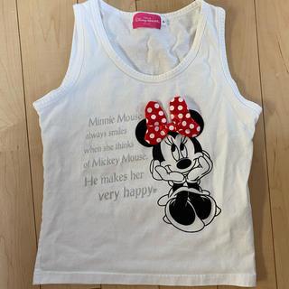 ディズニー(Disney)のミニーちゃんタンクトップS(タンクトップ)