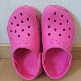 crocs - お値下げ!クロックス  女の子  C10(17.5)