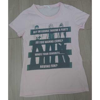 イリーデ(Ra Iride)のRa Iride♡Tシャツ♡ピンク(Tシャツ(半袖/袖なし))