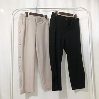 バレンシアガ(Balenciaga)のcruffin side snap button cropped pants(その他)