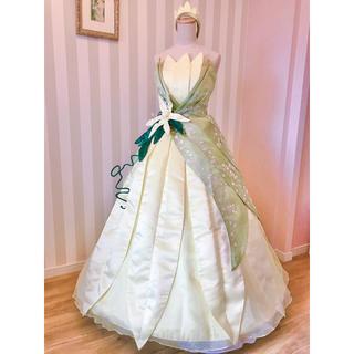 ディズニー(Disney)の❁プリンセスと魔法のキス ティアナ風 ドレス衣装❁新品(ロングドレス)