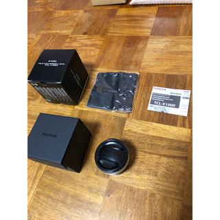 フジフイルム(富士フイルム)のFUJIFILM TCL-X100 II SILVER 未使用品(レンズ(単焦点))