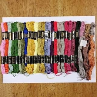 オリンパス(OLYMPUS)の刺繍糸 OLYMPUS★29本★set  オリムパス 25番 刺しゅう糸(生地/糸)