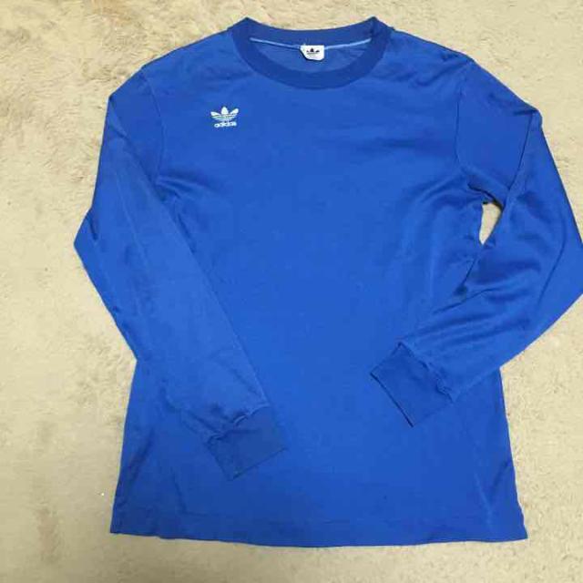 adidas(アディダス)のヴィンテージ アディダス ロンt メンズのトップス(Tシャツ/カットソー(七分/長袖))の商品写真