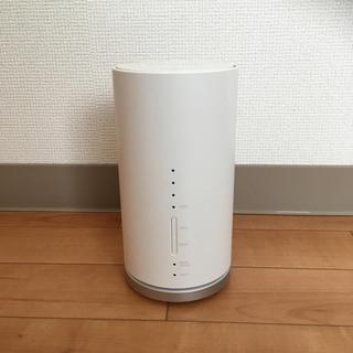 Speed Wi-Fi HOME L01 ホームルーター(PC周辺機器)