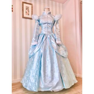 ディズニー(Disney)の✴︎シンデレラ グリーティング 冬バージョン版風衣装✴︎新品(ロングドレス)