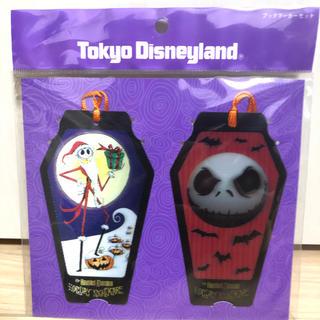 ディズニー(Disney)のTDL限定 ナイトメア・ビフォア・クリスマス ブックマーカーセット(しおり/ステッカー)