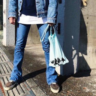 ホリデイ(holiday)のBOO FOO WOO BOTTLE BAG ミント mint(トートバッグ)