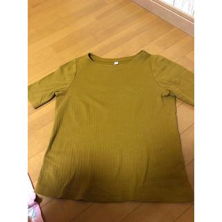 ユニクロ(UNIQLO)のUNIQLO 2度着用のみ 半袖(カットソー(半袖/袖なし))