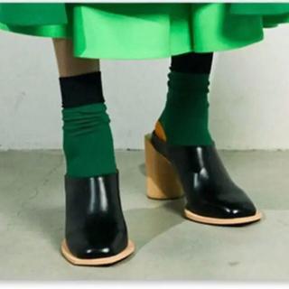 エンフォルド(ENFOLD)のenfold ソックス 靴下 新品(ソックス)