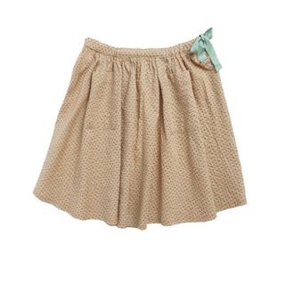 キャラメルベビー&チャイルド(Caramel baby&child )のcaramel 2020ss スカート グリーン ドット 3y(スカート)