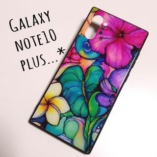 サムスン(SAMSUNG)のGalaxy note10+ Colleen Wilcox   強化ガラスケース(Androidケース)