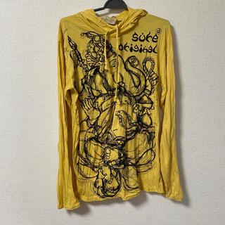 チチカカ(titicaca)のAJARA ガネーシャ フード付きカットソー(Tシャツ/カットソー(七分/長袖))