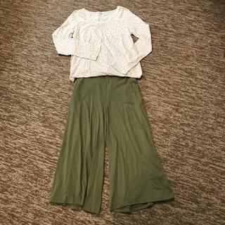 サマンサモスモス(SM2)のサマンサモスモス 花柄ロンT(Tシャツ(長袖/七分))