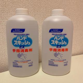 【新品】ハンドスキッシュ ex 付け替え 800ml 2本セット(アルコールグッズ)