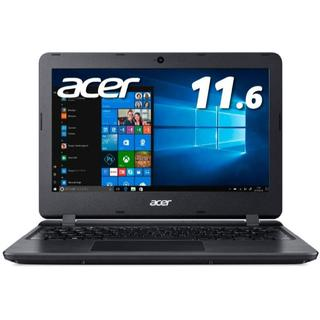 エイサー(Acer)のAcer ノートパソコン11.6型 Office搭載 Celeron 4GB 6(ノートPC)