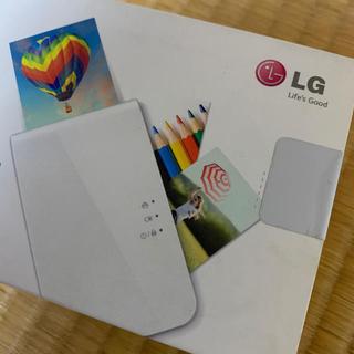 エルジーエレクトロニクス(LG Electronics)のLG Pocket photo(その他)