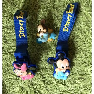 ディズニー(Disney)のベビーミッキー ベビーカークリップ&写真立て(ベビーカー用アクセサリー)
