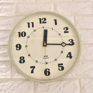 イデアインターナショナル(I.D.E.A international)のブルーノ 掛け時計(掛時計/柱時計)