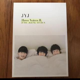 ジェイワイジェイ(JYJ)のJYJ  3hree Voices II   DVD(その他)