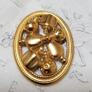 クリスチャンディオール(Christian Dior)の❤️ラテさま❤️専用クリスチャン・ディオール ブローチ(ブローチ/コサージュ)