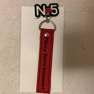 トリプルエー(AAA)の新品 Nissy5周年スマホリング(ストラップ/イヤホンジャック)