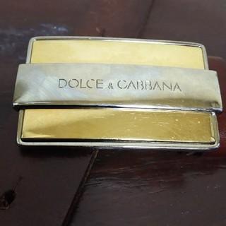 ドルチェアンドガッバーナ(DOLCE&GABBANA)のDOLCE&GABBANA レザーベルト(ベルト)
