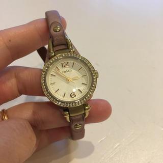 フォッシル(FOSSIL)のパステルパープル FOSSIL フォッシル 腕時計(腕時計(アナログ))