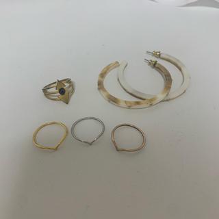 ローズバッド(ROSE BUD)のROSEBUD アクセサリーセット(リング(指輪))