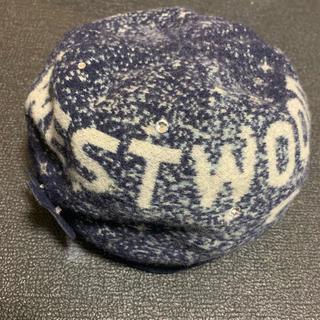 ヴィヴィアンウエストウッド(Vivienne Westwood)のヴィヴィアンウエストウッド ミルキーウェイ ベレー帽(ハンチング/ベレー帽)