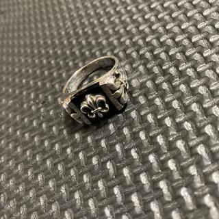 ブラックオニキスリリーリング silver925 20号(リング(指輪))