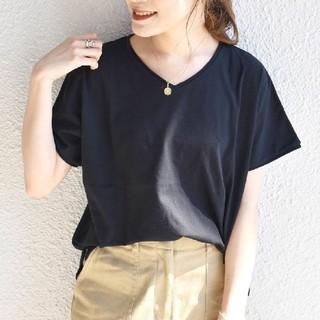 シップスフォーウィメン(SHIPS for women)の今季新品タグ付 SHIPS Days VネックショートスリーブTee(Tシャツ(半袖/袖なし))
