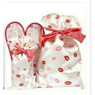 メゾンドフルール(Maison de FLEUR)の【新品未開】ゼクシィ キス舞いすぎるメゾンドフルール 花嫁スリッパ・リボン巾着♥(スリッパ/ルームシューズ)