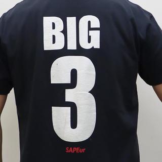 シュプリーム(Supreme)のSAPEur   BIG3Tシャツ(Tシャツ/カットソー(半袖/袖なし))