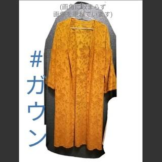 ジーユー(GU)の⸜値下げ⸝オレンジ  ガウン👚(その他)