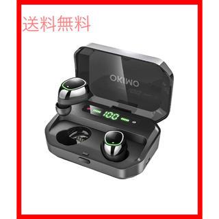 OKIMO Bluetooth イヤホン LEDディスプレイ ワイヤレスイヤホン(ヘッドフォン/イヤフォン)