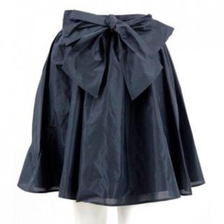 ニーナミュウ(Nina mew)のNinamew/リボンギャザースカート(ミニスカート)