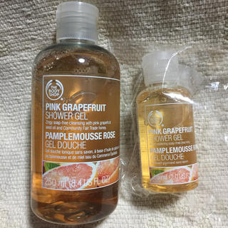 THE BODY SHOP - 【新品未使用品】 THE BODY SHOP シャワージェル ピンクグレープフ