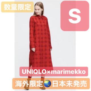 ユニクロ(UNIQLO)のユニクロ マリメッコ コラボワンピース(ひざ丈ワンピース)