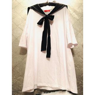 アンコロック(ankoROCK)のアンコロック セーラーカラー ビッグTシャツ(Tシャツ(半袖/袖なし))