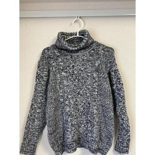【最終値下げ】タートルネックセーター グレー(ニット/セーター)