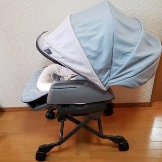 コンビ(combi)の☆最新☆ホワイトレーベルネムリラ AUTO SWING BEDi Long(ベビーベッド)