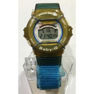 ベビージー(Baby-G)の腕時計 casio Baby G BG-310 青 中古(腕時計(デジタル))