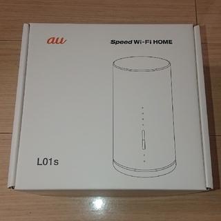 エーユー(au)のau  SPEED Wi-Fi Home L01S  [新品未使用](その他)