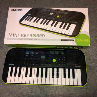 カシオ(CASIO)の電子ピアノ  CASIO カシオ SA-46 ミニキーボード 32鍵盤 SA46(電子ピアノ)