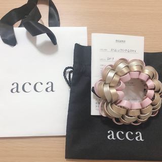 acca - acca ループシュシュ 新品未使用