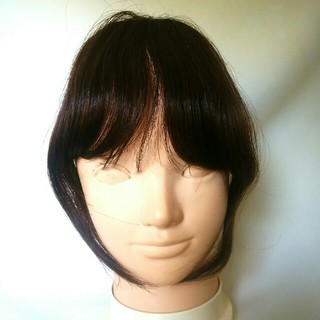 ohana*koron様前髪ウィッグ サイド付き 新品未使用(前髪ウィッグ)