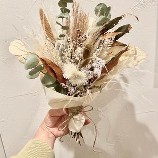 【お客様専用】母の日bouquet white(ドライフラワー)