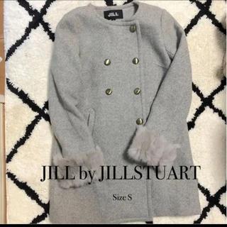 ジルバイジルスチュアート(JILL by JILLSTUART)のJILL by JILLSTUARTジルバイジルスチュアート ノーカラーコート(ノーカラージャケット)