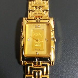 エルジン(ELGIN)のエルジン 純金腕時計(腕時計)